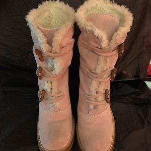 Steve Madden fur lined boots